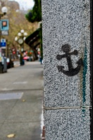 Graffiti found on 1st, Pioneer Square, Seattle