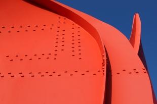 Alexander Calder- The Eagle, 1971 at Olympic Sculpture Park (#2) Photo taken December 2017