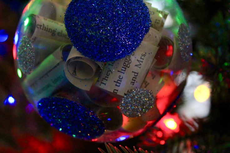 Ravenclaw Ornament Close Up