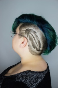 Feather undercut