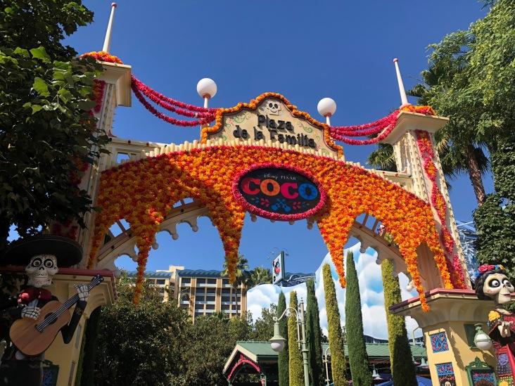 Plaza de la Familia entrance at Disney's California Adventure