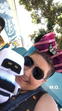 M.O. from Wall-E prize from the midway games at Disney California Adventure