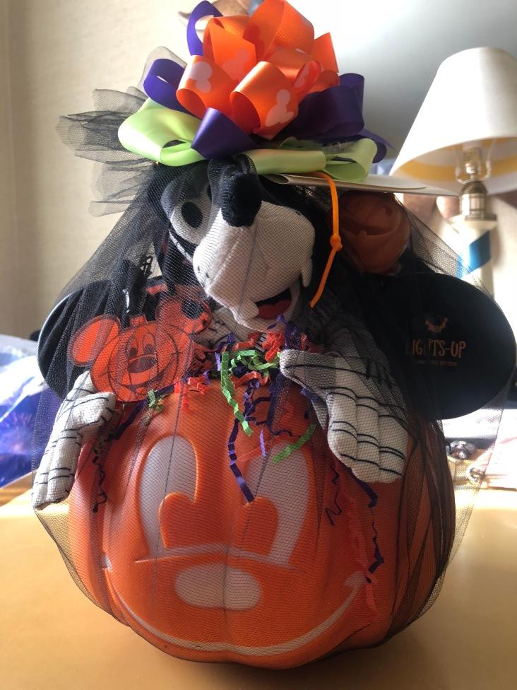 Halloween basket from Disneyland